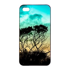 Trees Branches Branch Nature Apple Iphone 4/4s Seamless Case (black)