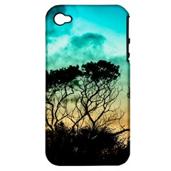 Trees Branches Branch Nature Apple Iphone 4/4s Hardshell Case (pc+silicone)