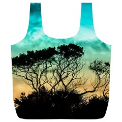 Trees Branches Branch Nature Full Print Recycle Bags (l)