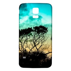Trees Branches Branch Nature Samsung Galaxy S5 Back Case (white)