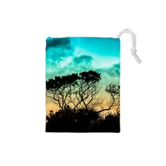 Trees Branches Branch Nature Drawstring Pouches (small)