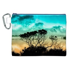 Trees Branches Branch Nature Canvas Cosmetic Bag (xxl)
