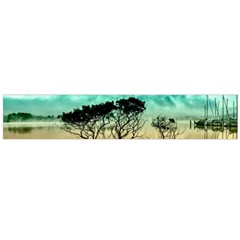 Trees Branches Branch Nature Large Flano Scarf