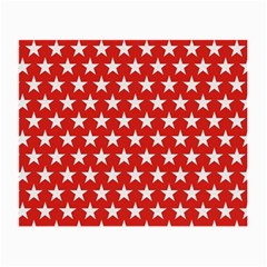 Star Christmas Advent Structure Small Glasses Cloth (2 Side)