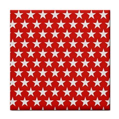 Star Christmas Advent Structure Face Towel