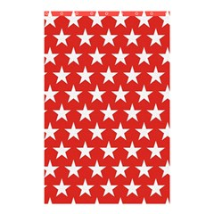 Star Christmas Advent Structure Shower Curtain 48  X 72  (small)