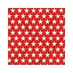 Star Christmas Advent Structure Acrylic Tangram Puzzle (6  X 6 )
