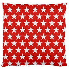 Star Christmas Advent Structure Large Cushion Case (one Side)