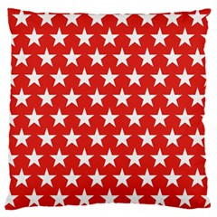 Star Christmas Advent Structure Standard Flano Cushion Case (one Side)