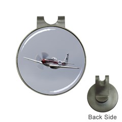 P 51 Mustang Flying Hat Clips With Golf Markers