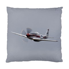 P 51 Mustang Flying Standard Cushion Case (two Sides)