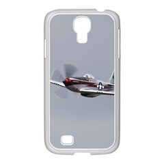 P 51 Mustang Flying Samsung Galaxy S4 I9500/ I9505 Case (white)