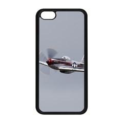 P 51 Mustang Flying Apple Iphone 5c Seamless Case (black)