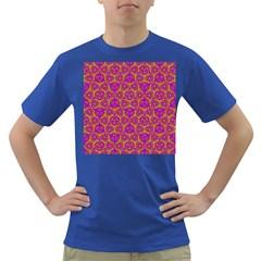 Sacred Geometry Hand Drawing Dark T Shirt