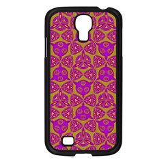 Sacred Geometry Hand Drawing Samsung Galaxy S4 I9500/ I9505 Case (black)