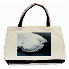 Ice, Snow And Moving Water Basic Tote Bag (two Sides)