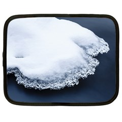 Ice, Snow And Moving Water Netbook Case (xl)