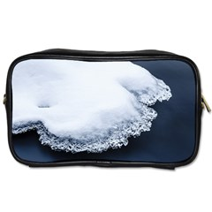 Ice, Snow And Moving Water Toiletries Bags 2 Side