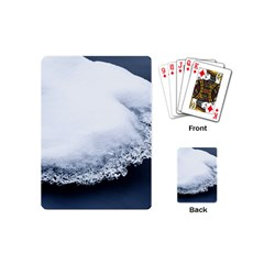 Ice, Snow And Moving Water Playing Cards (mini)