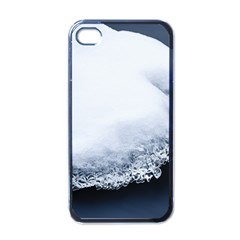 Ice, Snow And Moving Water Apple Iphone 4 Case (black)