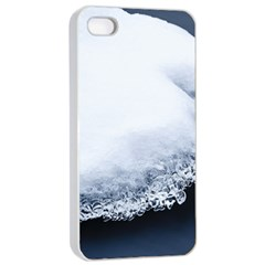 Ice, Snow And Moving Water Apple Iphone 4/4s Seamless Case (white)