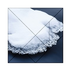 Ice, Snow And Moving Water Acrylic Tangram Puzzle (6  X 6 )