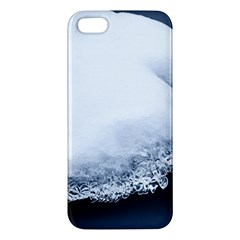 Ice, Snow And Moving Water Iphone 5s/ Se Premium Hardshell Case