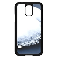 Ice, Snow And Moving Water Samsung Galaxy S5 Case (black)