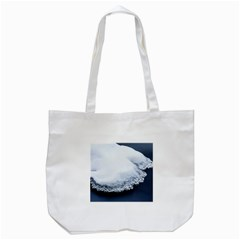 Ice, Snow And Moving Water Tote Bag (white)