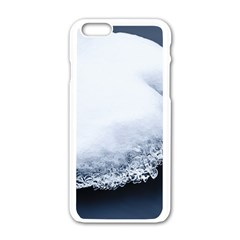 Ice, Snow And Moving Water Apple Iphone 6/6s White Enamel Case