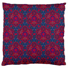 Bereket Red Blue Large Cushion Case (two Sides)