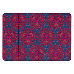 Bereket Red Blue Samsung Galaxy Tab 8 9  P7300 Flip Case