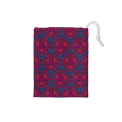 Bereket Red Blue Drawstring Pouches (small)