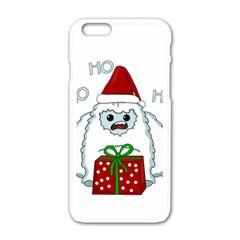 Yeti Xmas Apple Iphone 6/6s White Enamel Case