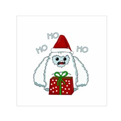 Yeti Xmas Small Satin Scarf (square)