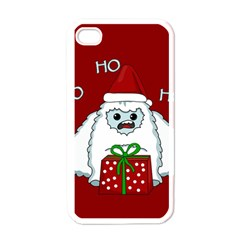 Yeti Xmas Apple Iphone 4 Case (white)