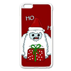 Yeti Xmas Apple Iphone 6 Plus/6s Plus Enamel White Case