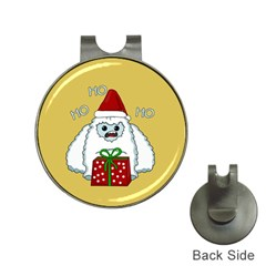 Yeti Xmas Hat Clips With Golf Markers
