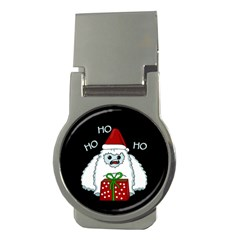 Yeti Xmas Money Clips (round)
