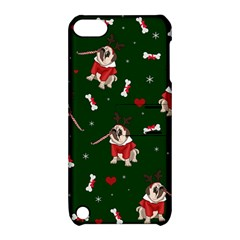 Pug Xmas Pattern Apple Ipod Touch 5 Hardshell Case With Stand