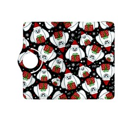 Yeti Xmas Pattern Kindle Fire Hdx 8 9  Flip 360 Case