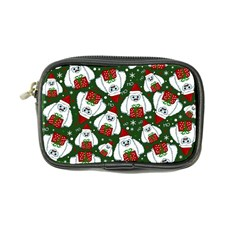 Yeti Xmas Pattern Coin Purse