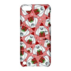 Yeti Xmas Pattern Apple Ipod Touch 5 Hardshell Case With Stand
