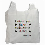 Santa s note Recycle Bag (One Side) Front