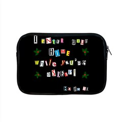 Santa s Note Apple Macbook Pro 15  Zipper Case