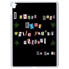 Santa s Note Apple Ipad Pro 9 7   White Seamless Case