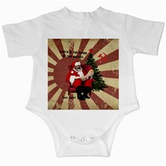 Karl Marx Santa  Infant Creepers