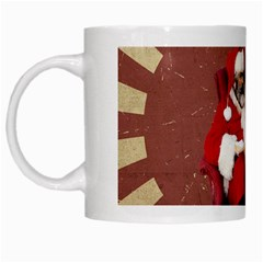 Karl Marx Santa  White Mugs