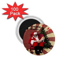 Karl Marx Santa  1 75  Magnets (100 Pack)