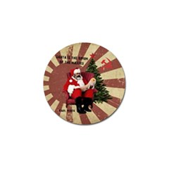 Karl Marx Santa  Golf Ball Marker